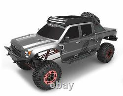 15 Clawback Electric RC Monster Truck Rock Crawler 4WD Off Road 2.4GHz Grey