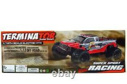 2.4G 112 Brushless RC Terminator Remote Control Racing Truck (Red)