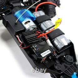 4WD RC Monster Truck Off-Road Vehicle 1/10 Scale Remote Control Crawler Car Fire