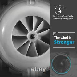 50dB Wall-Mounted Fan Air Conditioning Fan Bladeless Cooling Fan Remote Control