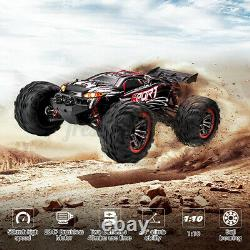 62km/h 110 Scale Remote Control RC Car Brushless Electric 40+ MPH 4WD Off-Road