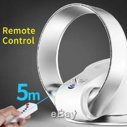 Air Conditioning Fan Bladeless Cooling Fan Remote Control Shake Wall-Mounted NEW