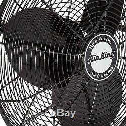 Air King 20 1/6 HP 3-Speed Non-Oscillating Totally Enclosed Wall Mount Fan