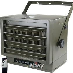 Comfort Zone Industrial Ceiling Mount Heater + Remote! 7500 Watts 240V Electric