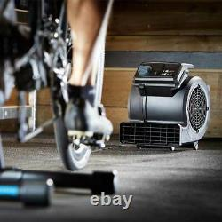 Cooling Fan Vacmaster Cardio54 indoor turbo training fan with remote control