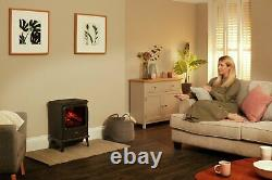 Dimplex Evandale 2kW 3D Flame Effect Optimyst Freestanding Electric Stove Fire