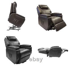 Dorchester Rise and Recline Chair Dual Motor Electric Riser Recliner Armchair