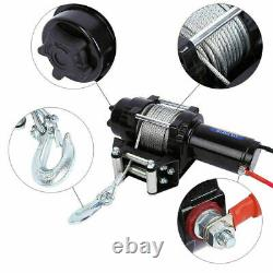 ELECTRIC WINCH 12V 4000lb RECOVERY- OFF ROAD WIRELESS