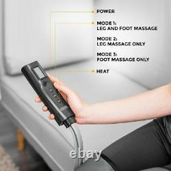 Electric Knee Foot Leg Massager Pad Body Pain Relief Therapy Blood Circulation