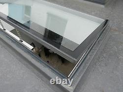 Electric Opening Skylight Double Glazed 1000mm x 2000mm, Remote Controlled