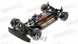 Exceed RC 1/10 MadSpeed Drift King GT-R Brushless Remote Control Drift Car +LEDs