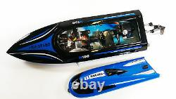 H100 2.4G Water Cooling High Speed RC Remote Radio Control Racing Speed Boat TOY