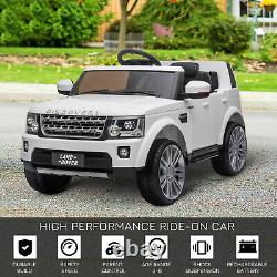 HOMCOM Landrover Discovery 12V Kids Electric Ride On Car Toy with Remote Control