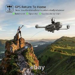 Holy Stone HS720 5G FPV GPS Drone with 4K UHD Camera Brushless Quadcopter + Case