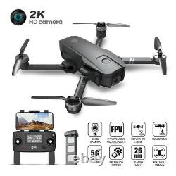 Holy Stone HS720 Foldable RC Drone with HD Camera 2K 5G Brushless GPS Quadcopter