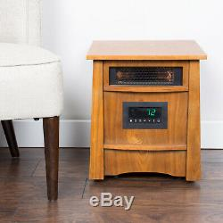 Lifesmart Lifelux 8 Element Portable Electric Infrared Large Room Space Heater