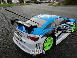 Mitsubishi Rechargeable 4wd Drift Radio Remote Control Car 1/10 Speed Racing Car