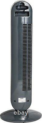 Mylek Tower Fan Electric Oscillating Remote Control Timer Air Purifier 6 Speed