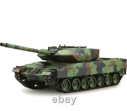 NEW heng long radio remote controlled Leopard 2A6 tank BB shooting 2.4G 1/16 RTR