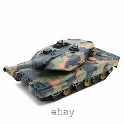 New 2.4G RC 124 Heng Long Leopard 2A6 Airsoft Tank Remote Control InfraRed V5