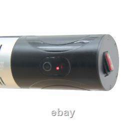 Outdoor Wall Mount Electric Halogen Heater Warmer with Remote Control Black
