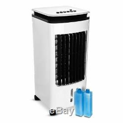 Portable 4L Air Cooler Evaporative Oscillating Unit Ice Fan With Remote Swing AC
