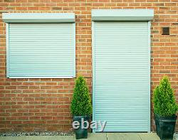 ROLLER SHUTTER, Electric, remote controlled, windows doors made to measure, 39mm