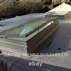 Roof Lantern Rooflight Skylight Window Glass Remote Electric Opening ALL SIZES