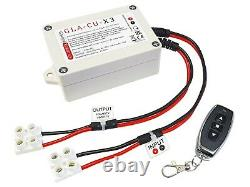 Secure Remote Control Switch Actuator & Electric Motor. 12V 24V DC. Quality Fob