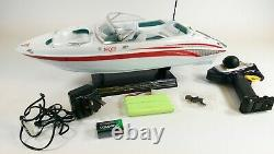 UK RC Speed Boat Atlantic Yacht Racing Boat Remote Control Transmitter Ship RTR