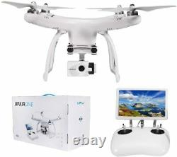 UPair One G10 HD Large Remote Control GPS Drone with Camera 7-inch FPV Screen