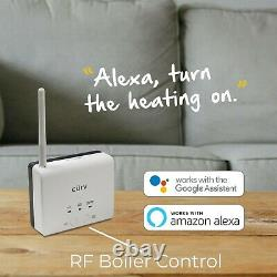 WiFi Smart Individual Room Control Heating Thermostat Programmable App TRV Stat